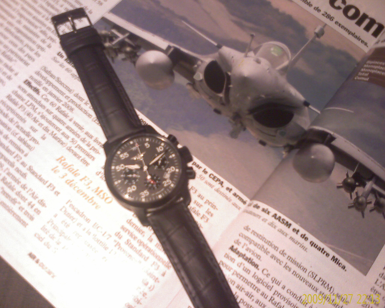 "Chronographe russe ""Pilot"" IMAGE_129"